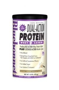 100% Natural Dual Action Protein Powder Original and Other Flavors - Product Image