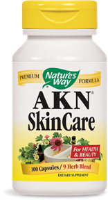 AKN® SkinCare 100 Capsules - Product Image