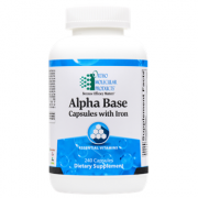 Alpha Base Capsules w/ Iron 240 CT - Product Image