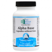 Alpha Base Capsules without Iron 120 CT - Product Image