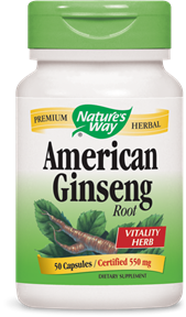 American Ginseng Root 50 Capsules - Product Image