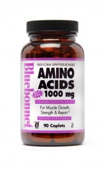 Amino Acids 1000 mg 90 Caplets - Product Image