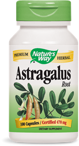 Astragalus Root 100 Capsules - Product Image