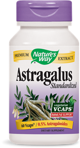 Astragalus Standardized 60 Vcaps - Product Image