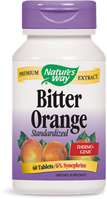 Bitter Orange Standardized 60 Tablets - Product Image