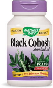 Black Cohosh Standardized 120 Vcaps - Product Image