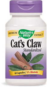 Cat's Claw Standardized 60 Capsules - Product Image