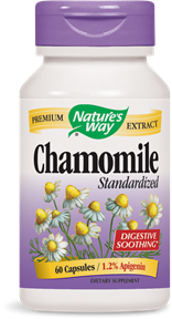 Chamomile Standardized 60 Capsules - Product Image