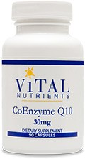 CoEnzyme Q10 30mg 90 caps. - Product Image