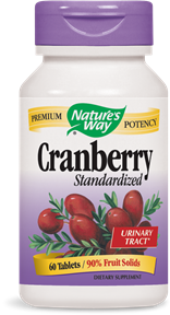 Cranberry Standardized Tablets - Product Image