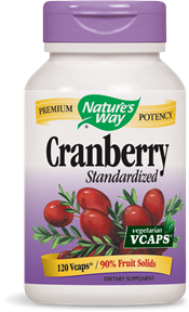 Cranberry Standardized Vcaps - Product Image
