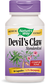 Devil's Claw Standardized 90 Capsules - Product Image