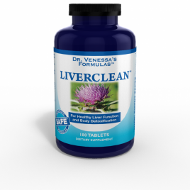 Dr. Vanessa - Liverclean 100 Tablets - Product Image