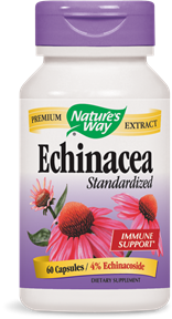 Echinacea Standardized 60 Capsules - Product Image