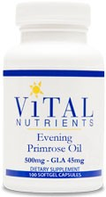 Evening Primrose Oil 500mg 100 gels - Product Image