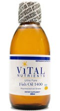Fish Oil 2600, Ultra Pure Liquid 4oz / 100 mg - Product Image