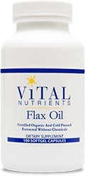 Flax Oil 100 gels / 1000 mg - Product Image