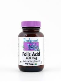 Folic Acid 400 mcg Vcaps - Product Image