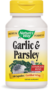 Garlic & Parsley 100 Capsules - Product Image