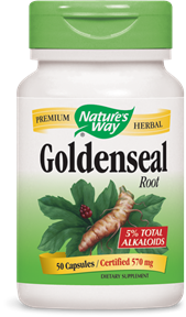 Goldenseal Root Capsules - Product Image