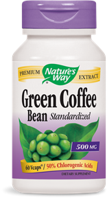 Green Coffee Bean 60 Vcaps - Product Image