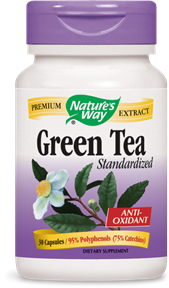 Green Tea Standardized 30 Capsules - Product Image