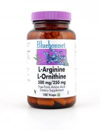 L-Arginine/L-Ornithine 500 mg/250 mg Vcaps - Product Image