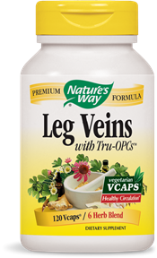 Leg Veins with Tru-OPCs(TM) 120 Vcaps - Product Image
