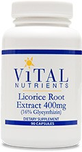 Licorice Root Extract 90 caps. - Product Image