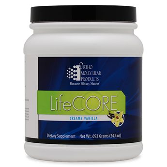 LifeCORE(TM)- Vanilla Powder 14 Servings - Product Image