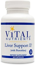 Liver Support II (with picrorhiza) 60 veg. caps. - Product Image