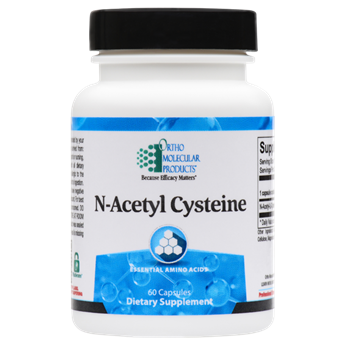 N-Acetyl Cysteine 60CT Capsules - Product Image