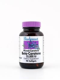 Natural Beta-Carotene 25,000 IU 90 Softgels - Product Image