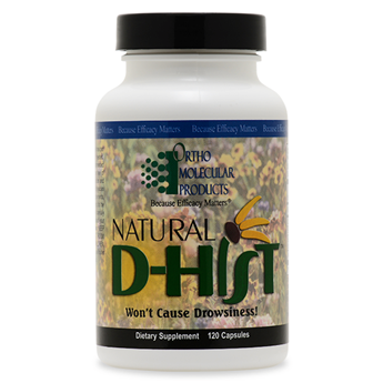Natural D-Hist 40CT Capsules - Product Image