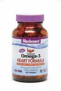 Natural Omega-3 Heart Formula Softgels - Product Image