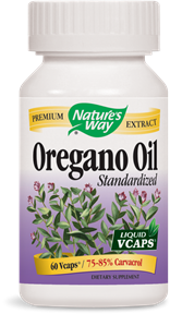 Oregano Oil Standardized 60 Liquid Vcaps - Product Image