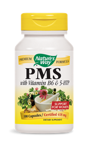 PMS with Vitamin B6 & 5-HTP 100 Capsules - Product Image