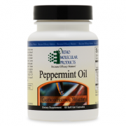 Peppermint Oil 60CT Soft Gel Capsules - Product Image
