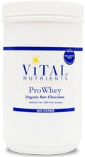 ProWhey with Organic Raw Chocolate 600g - Product Image
