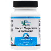 Reacted Magnesium & Potassium 60CT Capsules - Product Image