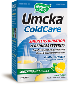 Umcka® ColdCare Soothing Hot Drink (Lemon) 10 packets / box - Product Image