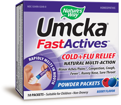 Umcka® Cold+Flu FastActives(TM) (Berry) - Product Image