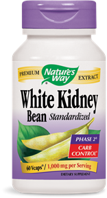 White Kidney Bean 60 Vcaps - Product Image