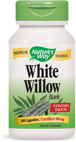 White Willow Bark 100 Capsules - Product Image