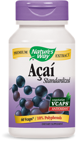 Acai Standardized 60 Vcaps - Product Image