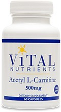 Acetyl L-Carnitine 500mg - Product Image