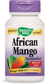 African Mango Standardized 60 Vcaps - Product Image
