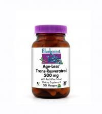 Age-Less Trans-Resveratrol 500 mg Vcaps - Product Image