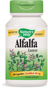 Alfalfa Leaves 100 Capsules - Product Image