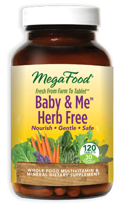 Baby & Me(TM) Herb Free 120 Tablets - Product Image